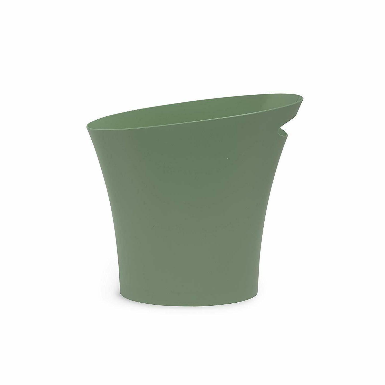 Bathroom Trash Sleek Spruce Green