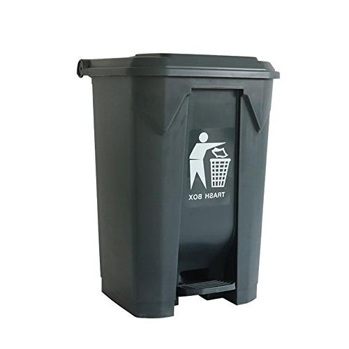big foot trash can