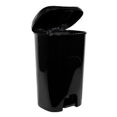 Black Trash Gallon Foot Lid Kitchen
