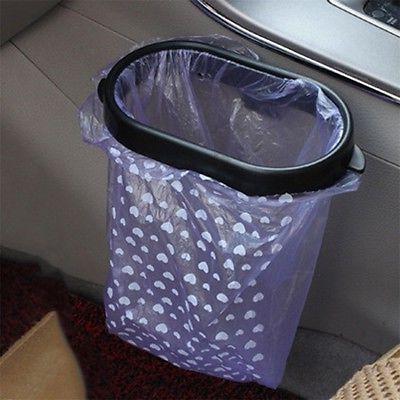 black auto car garbage trash carry bag