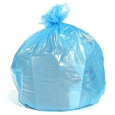 blue recycling bags