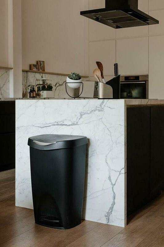 Umbra Trash Kitchen Garbage Can Fo