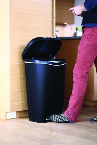 Umbra 13-Gallon Step Waste Nickel