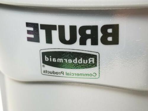 Rubbermaid GRAY Mini Miniature Garbage Can New