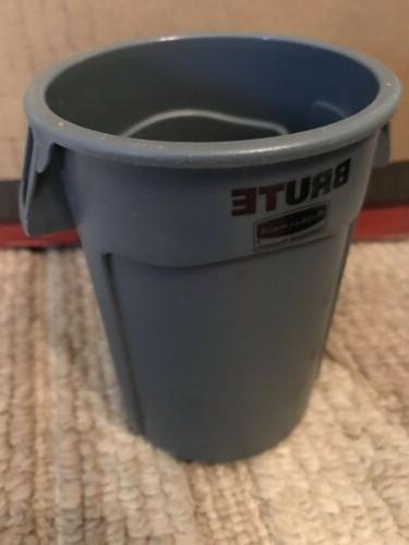 Rubbermaid BRUTE Grey Miniature Bin Garbage Trash Can Lid