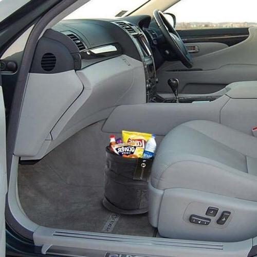 NEW Auto Rv Pop Up Garbage Bin/Bag Car Wastebasket Trash can