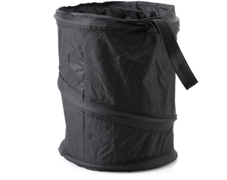 Car Garbage Can Trash Bag Organizer Universal Travel Portabl