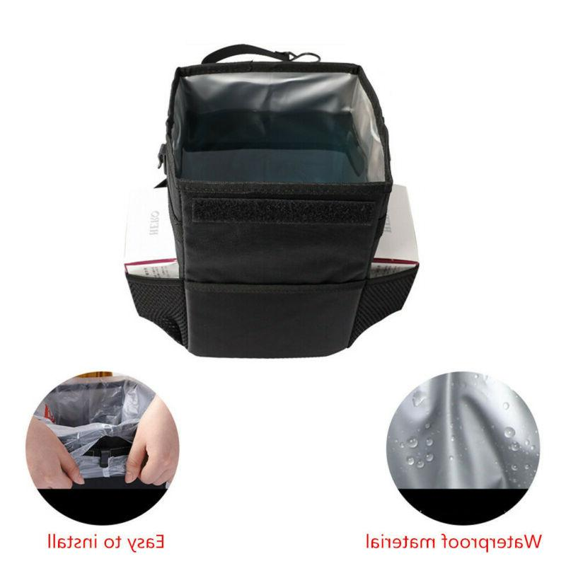 Car Bag Can, Premium Garbage for Travel Black