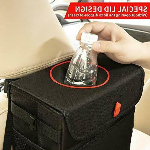 QUARKACE Leakproof Garbage with Collapsible