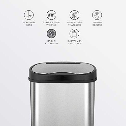 NINESTARS Touchless Infrared Can,