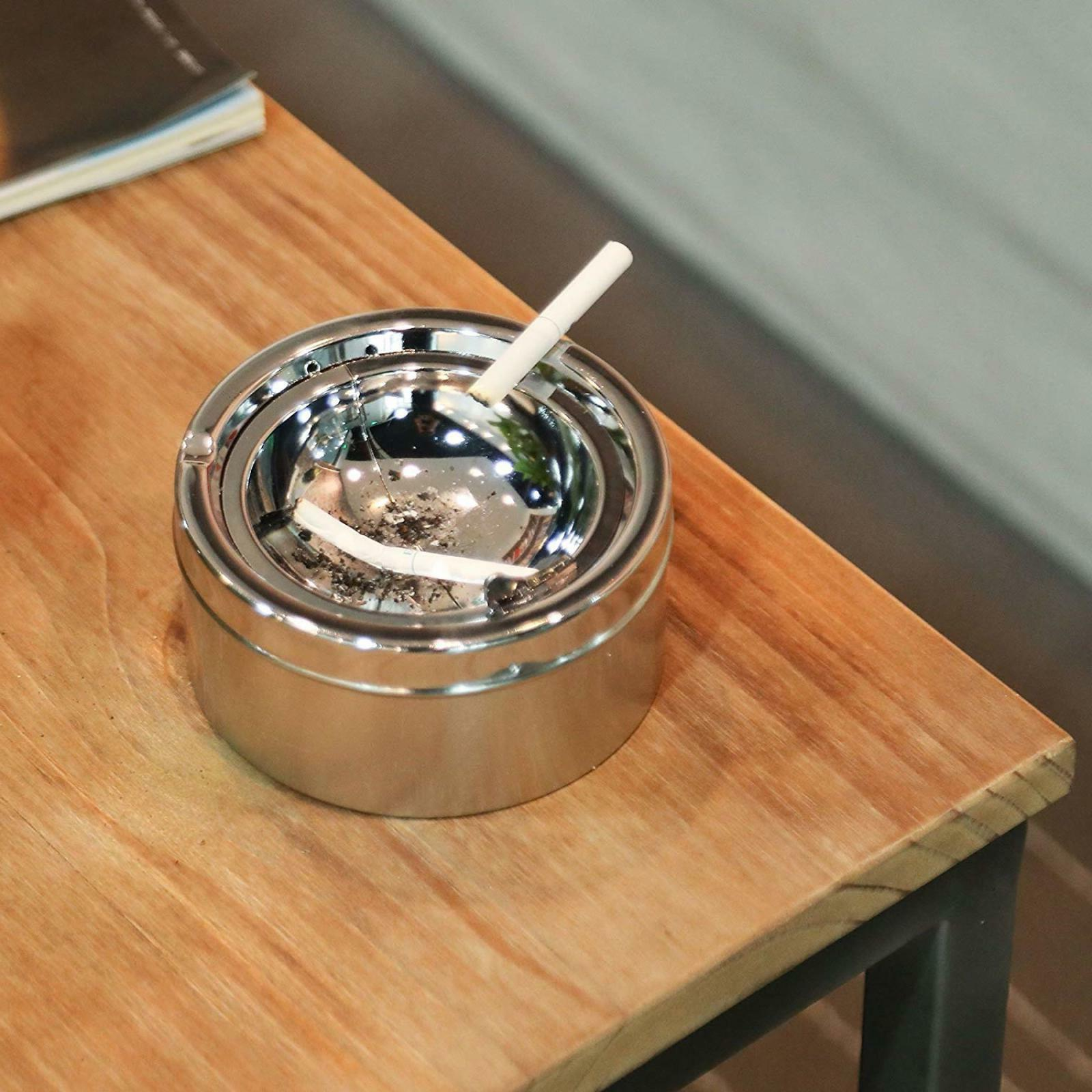 Cigarette Ashtray Stand Big Proof New