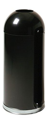 Rubbermaid Commercial Classic Trash Can, 15 Gallon, Black, F