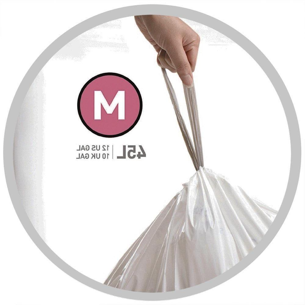 Simplehuman Code Trash Bags Extra Custom Liners L Garbage