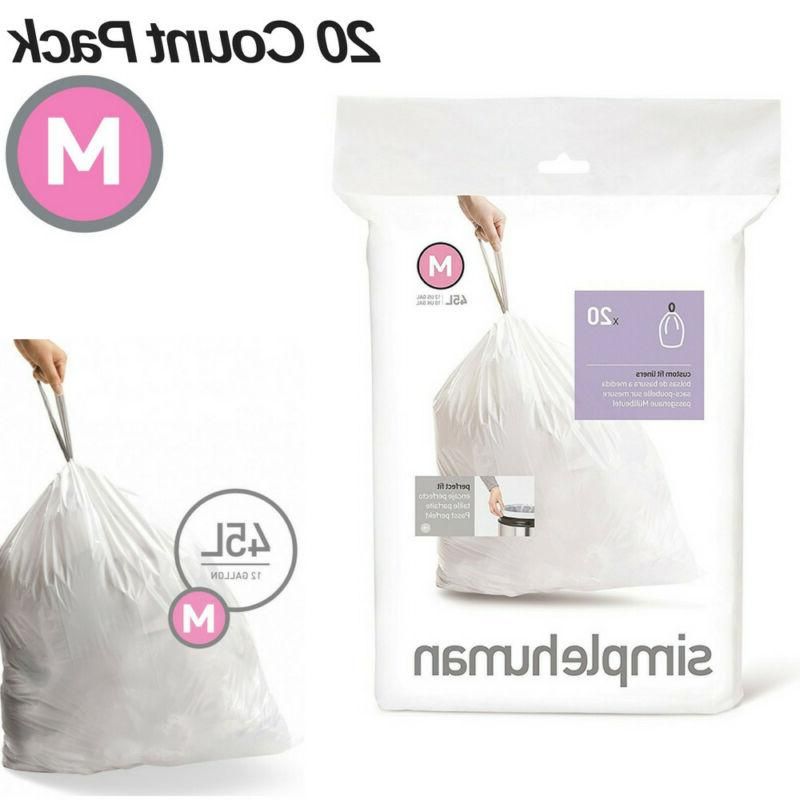code m trash bags 20 extra strong