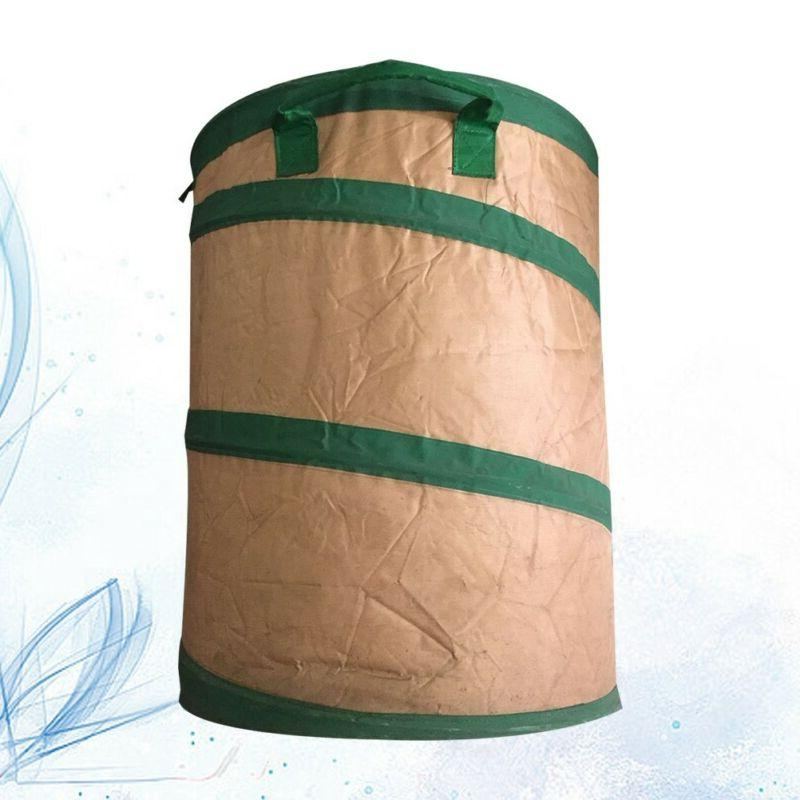 collapsible pop up camp trash can portable