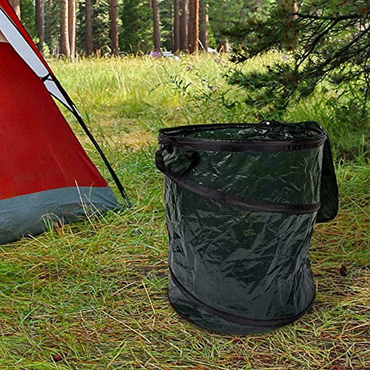 Collapsible Garbage Can 33 Grab Waste US