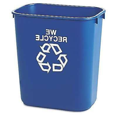 Rubbermaid Commercial Deskside Recycling Trash Garbage Can B