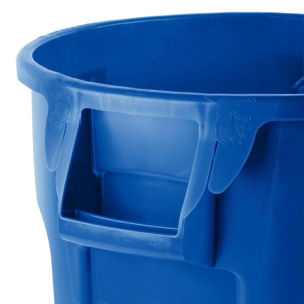 Rubbermaid Commercial Products Brute Garbage Gal Trash Can, No Lid