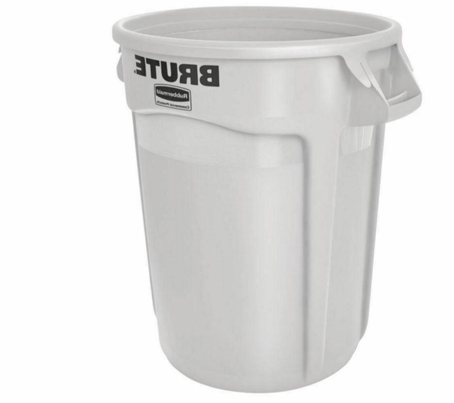 Rubbermaid Products Garbage 32-Gallon Gal Bin Trash Can, No