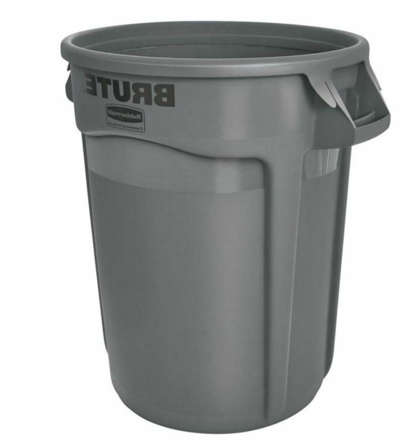 Rubbermaid Garbage 32-Gallon Trash Can, No Lid