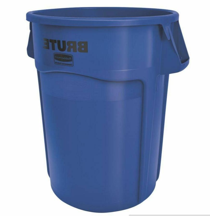Rubbermaid Products Brute Garbage Gal Trash Can, No Lid