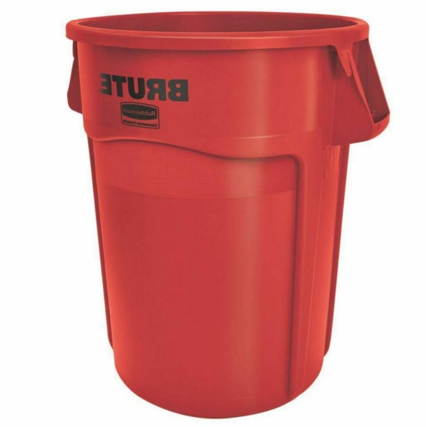 Rubbermaid Products Garbage Trash Can, No