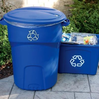 32 Gal. Recycling Bin Garbage Can