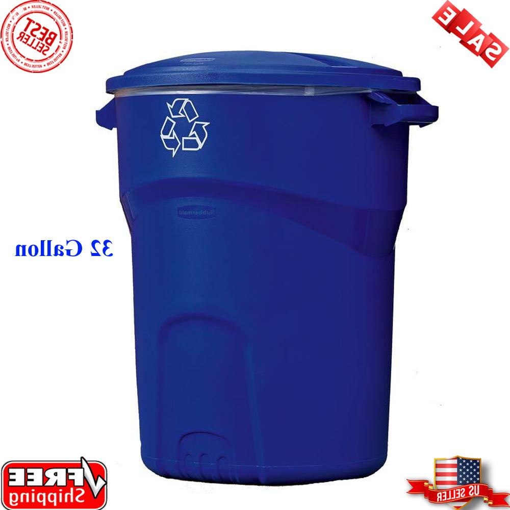 commercial recycling bin garbage can
