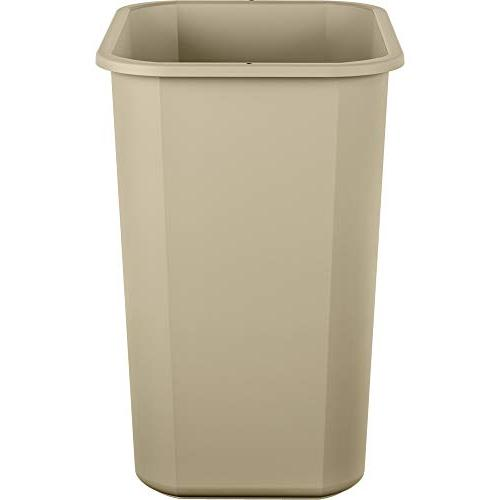 AmazonBasics 7 Commercial Waste Beige, pack