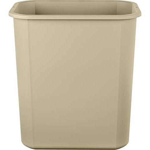 AmazonBasics 7 Commercial Waste Basket, pack