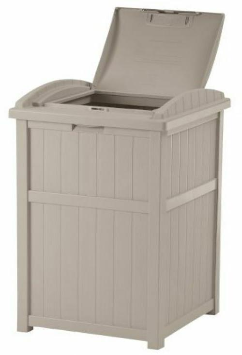 Trash Can Bin Container Shed