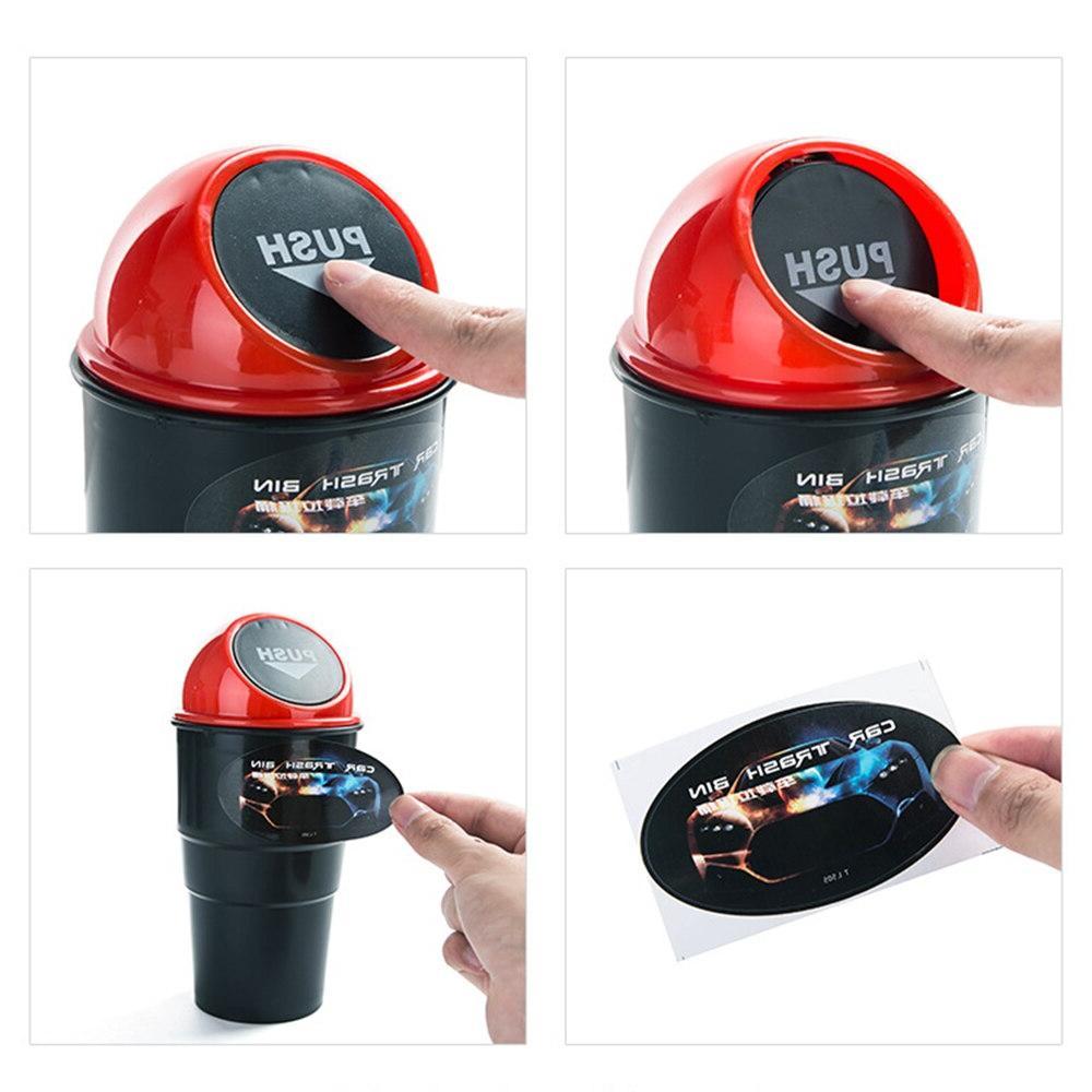 Creative Mini <font><b>Bin</b></font> <font><b>Garbage</b></font> <font><b>Can</b></font> Vehicle Trash Dust Holder Detachable Portable Ash Urns