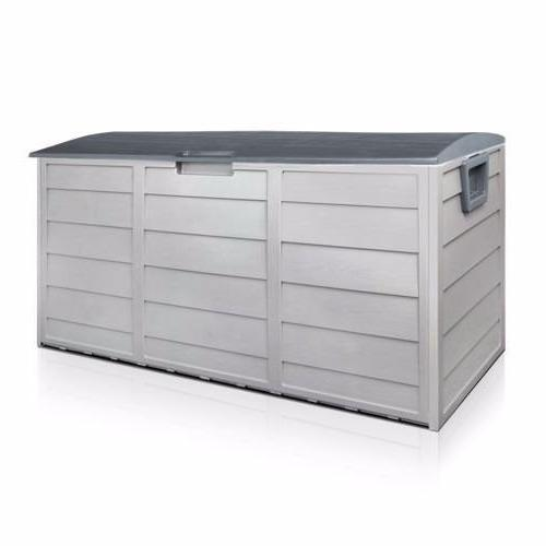 deck storage shed bin backyard