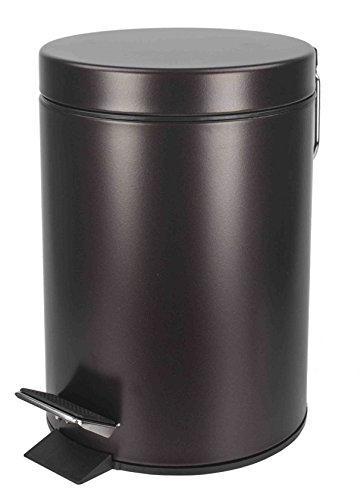 Home Basics NEW 3LT Liter Bronze Brown Waste Garbage Trash C