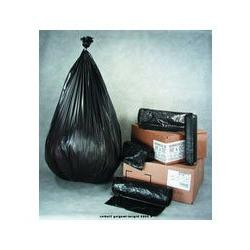 "IBS High Density Black Trash Bags, 30 Gallon, 10 Micron, 30"""