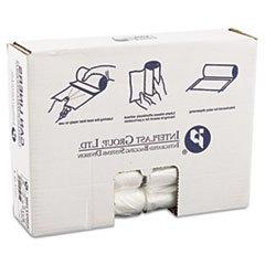 * High-Density Can Liner, 30 x 37, 30gal, .394mil, Clear, 25