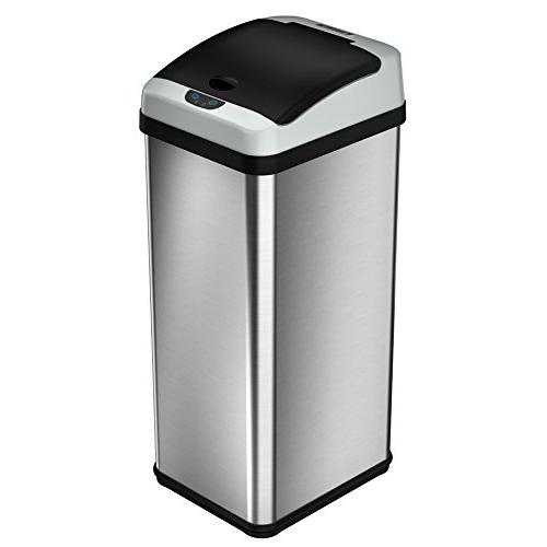 iTouchless Gallon Touchless Sensor Kitchen Trash Can AC Odor Limited