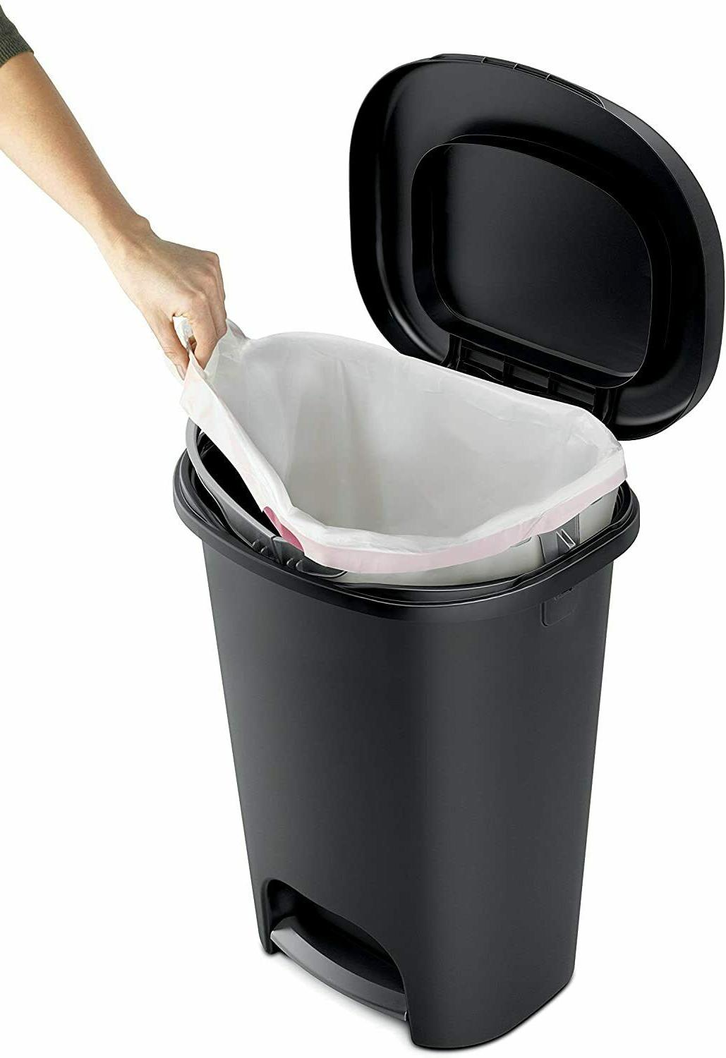 Step On Lid Trash Can for and Garbage Wast 13