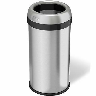 dual deodorizer round open trash