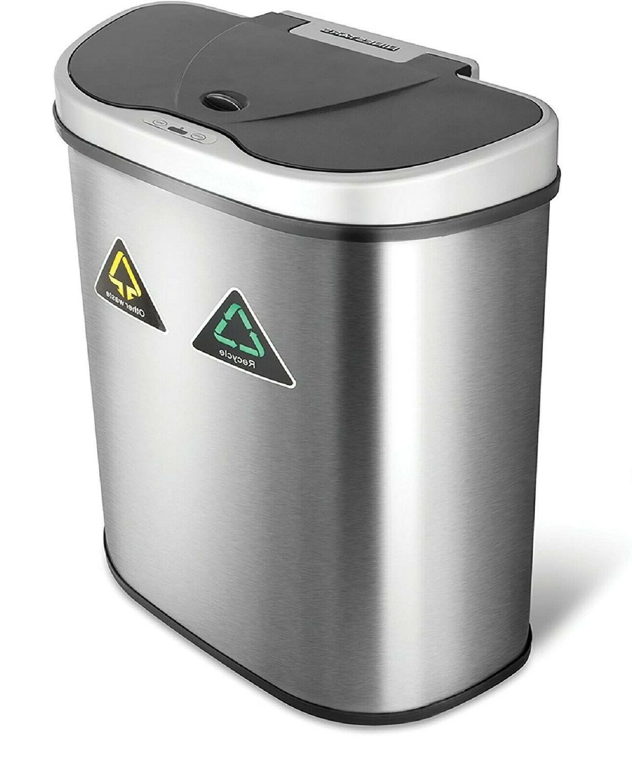 Dual Trash Bin for Garbage with gallon