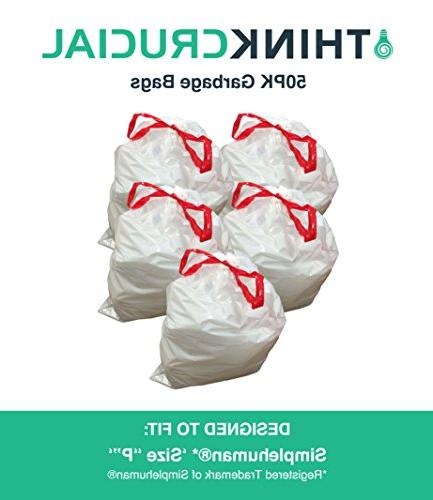 durable garbage bags fit simplehuman