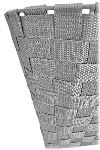 Durable Woven Office Basket Garbage