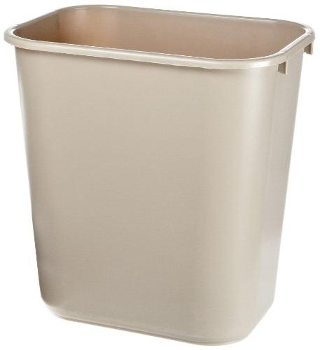 fg295600beig deskside wastebasket