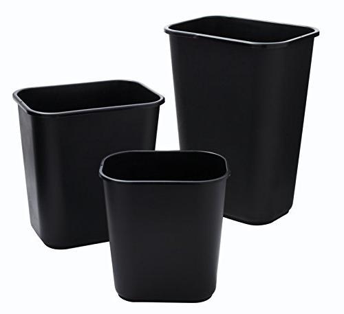 Rubbermaid Commercial Plastic Deskside 7 Gallon/28