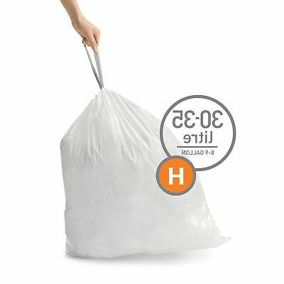 Trash Can Liner Code H - Gal. Double Seam