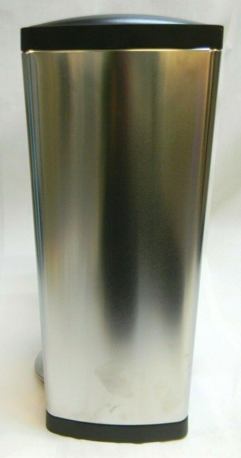 Garbage Can Simple Rectangular Step On Can 38 Steel