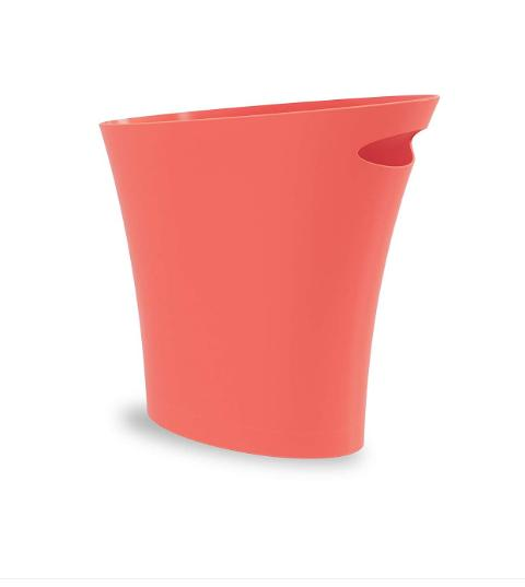 garbage can small wastebasket for narrow spaces