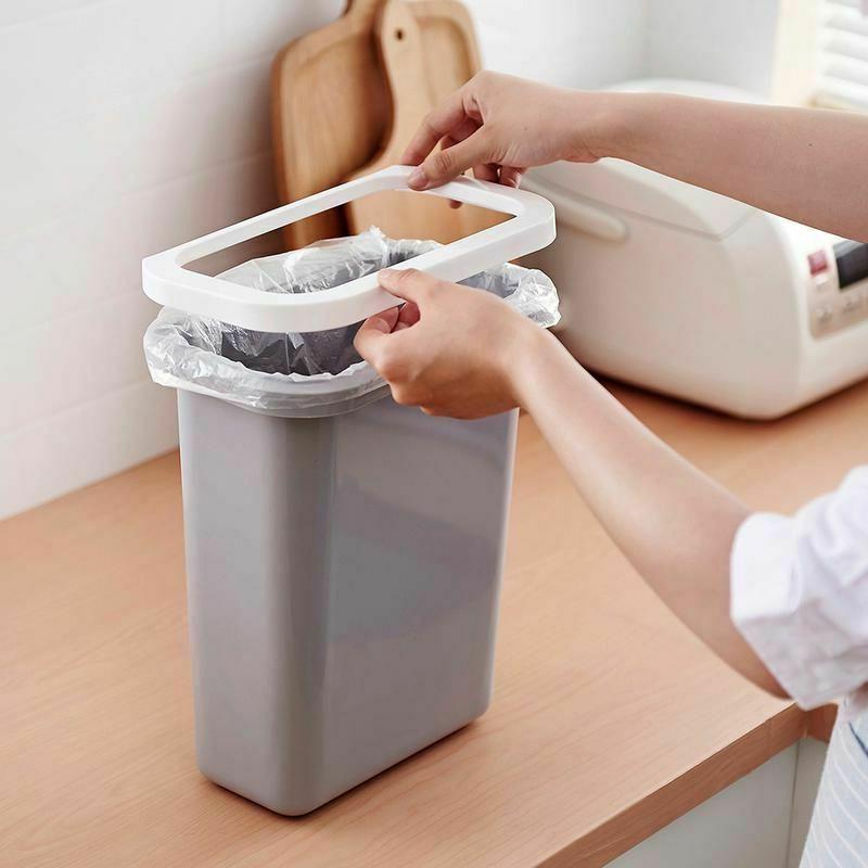 Garbage Plastic Trash Waste Kitchen Garage Office 10L