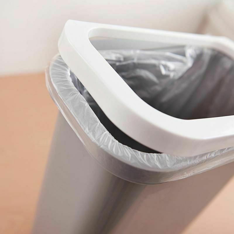Garbage Plastic Can Waste Recycle Bin Garage 10L