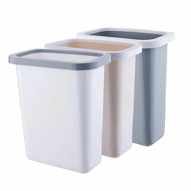 garbage plastic trash can waste recycle bin